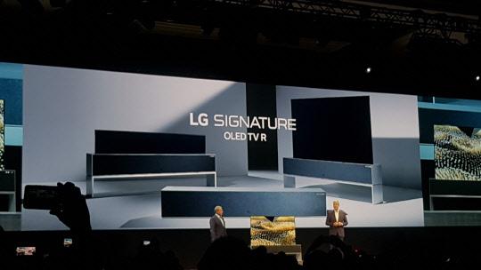 [CES 2019] LG전자, 롤러블 TV부터 캡슐맥주제조기까지…혁신 기술 호응